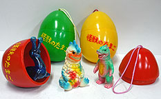 kaiju egg ©円谷プロ TM&©1964, 2009 TOHO CO.,LTD.