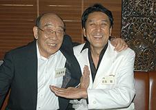 中島春雄氏と古谷敏氏